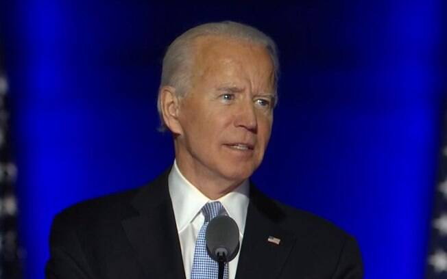 'Prometo ser um presidente para unir, não dividir', diz Biden em discurso de vitória