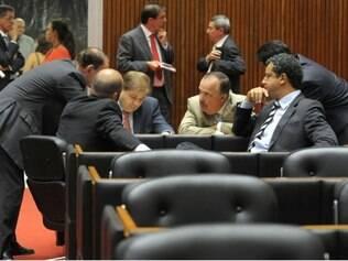 Reunião de plenário da Assembleia Legislativa de Minas Gerais