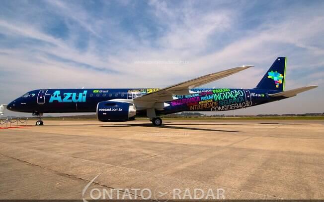Azul retomará voos para Caldas Novas com o E2