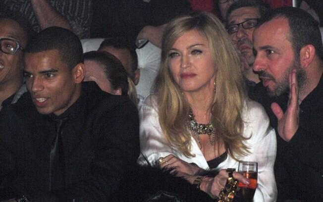 Madonna e Brahim Zaibat juntos em audição em Nova York