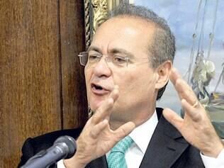 Apesar das dificuldades entre governo e base, Renan Calheiros disse que o clima é de tranquilidade