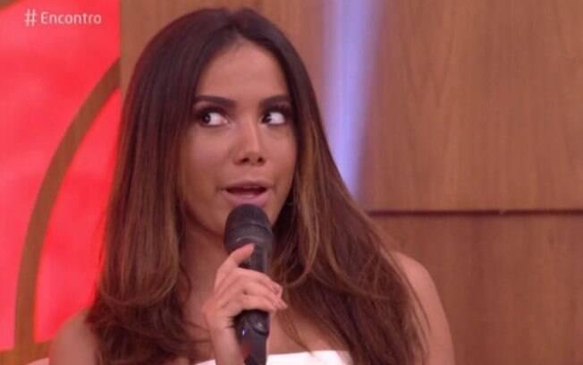 Anitta causou ao falar sobre sexo no