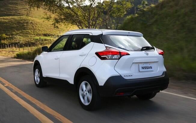 Nissan Kicks S com câmbio manual tem um dos maiores descontos oferecidos, chegando a R$ 9 mil
