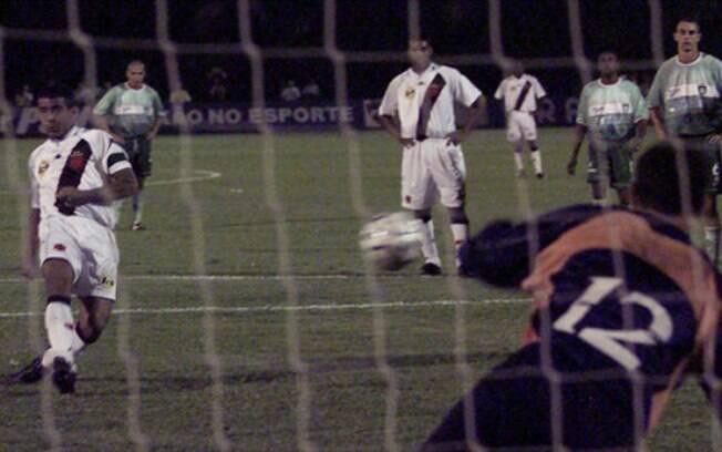 Band vai transmitir título do Vasco sobre o Palmeiras na Copa Mercosul de 2000