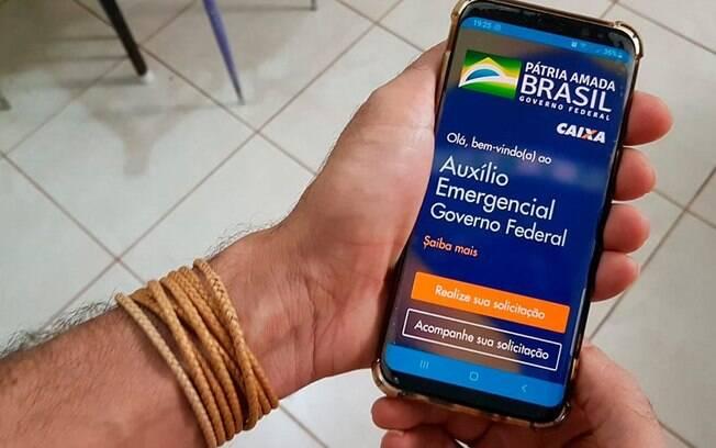 app auxílio emergencial