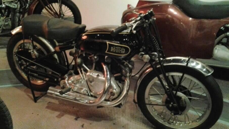 HRD Vincent 1948, uma das mais rápidas motocicletas de sua época