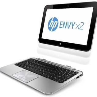 Envy x2 funciona como tablet e notebook