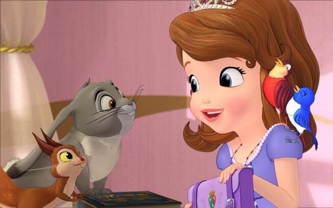 Disney prepara o lan amento de sua primeira princesa - Princesse sofia et ariel ...