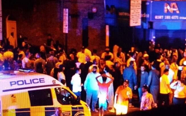 De acordo com a mídia local, o local do atropelamento que deixou feridos em Londres fica próximo de uma mesquita