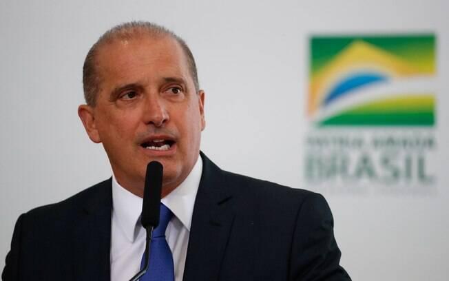 Ministro da Casa-Civil, Onyx Lorenzoni anunciou recusa