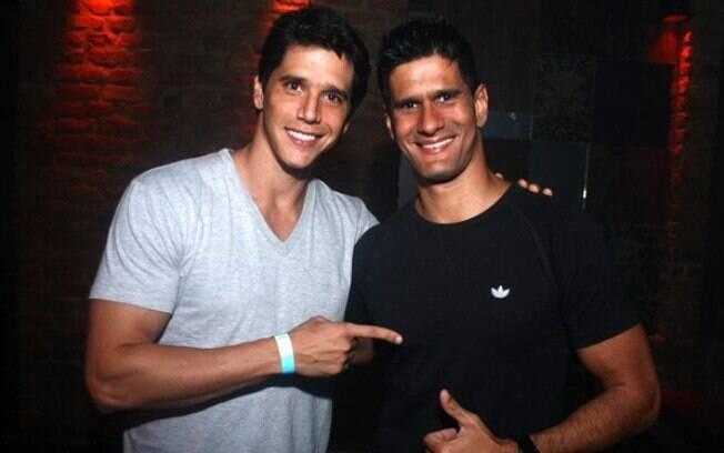 Márcio Garcia e seu irmão, Marcelo