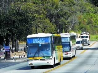 Perigo.  Empresas de ônibus reclamam da insegurança, e polícia promete reforço no efetivo