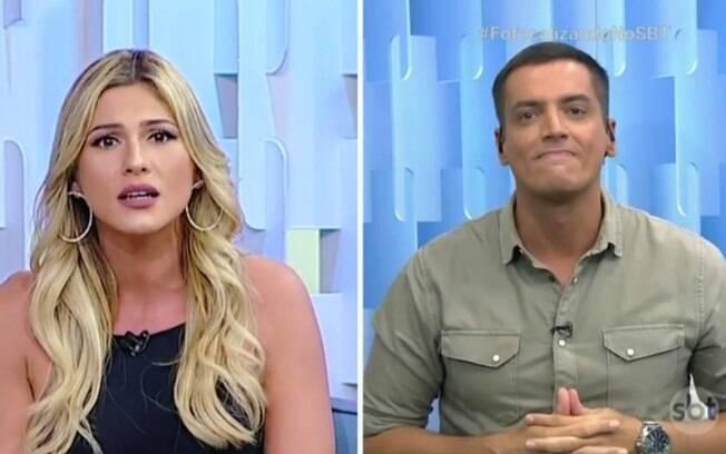 Lívia Andrade e Leo Dias