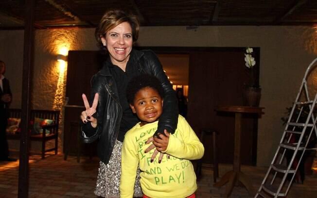 Astrid Fontenelle comemora aniversário do filho Gabriel em buffet infantil