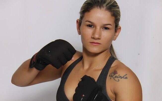 Lutadora de MMA Monique Bastos, que imobilizou um suspeito de assalto no Maranhão