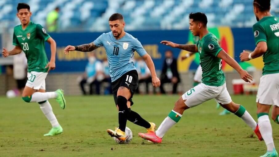 Uruguai x Bolívia