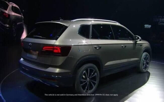 Estilo do novo SUV médio da VW segue o estilo adotado no Tiguan AllSpace que estreia no Brasil no mês que vem