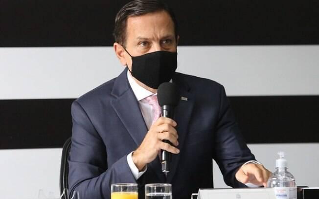 AO VIVO - Doria anuncia novas medidas de combate ao coronavírus