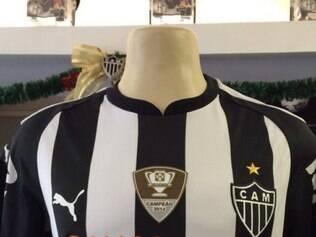 Camisa do Atlético já tem a referência do título da Copa do Brasil