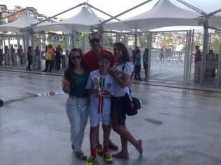 Família Santa Fé garante a torcida para Portugal e espera vitória lusitana contra a Alemanha nesta segunda