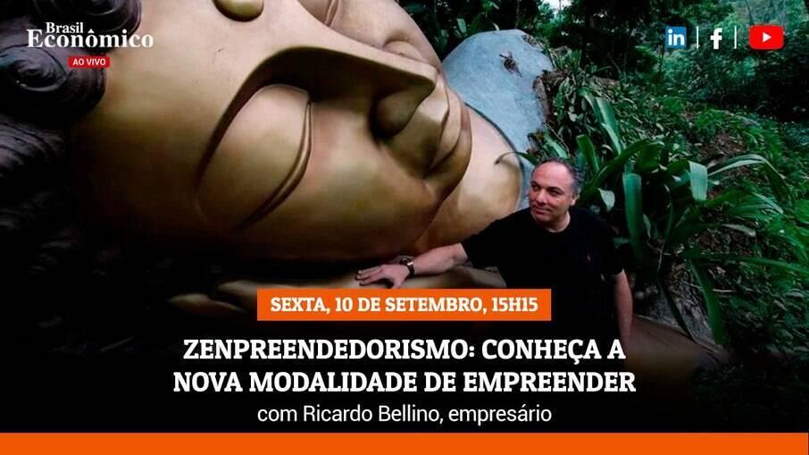 Ricardo Bellino, fundador da Escola da Vida, é o convidado do Brasil Econõmico ao vivo desta sexta-feira (10)