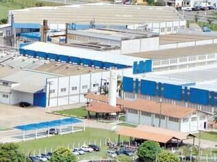 Vista panorâmica da fábrica da Higident do Brasil em Itajubá, no Sul de Minas Gerais