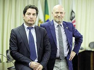 Emanuele Vicentini e Massimo Brunamonti apresentam a feira