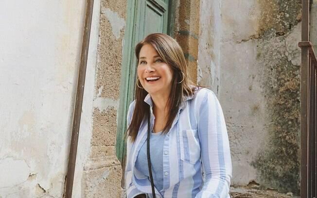 Lorraine Bracco comprou casa por 1 euro na Itália