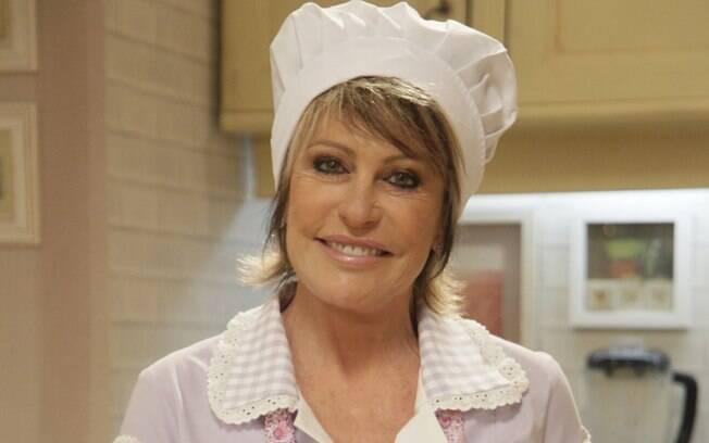 Ana Maria Braga vive a cozinheira na vinheta de final de ano