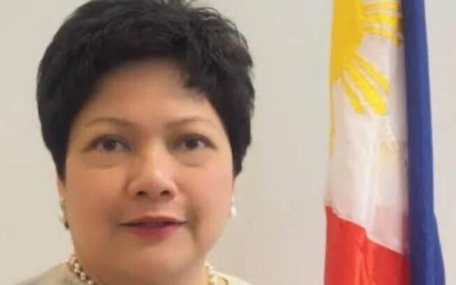 Embaixadora das Filipinas no Brasil foi filmada agredindo empregada