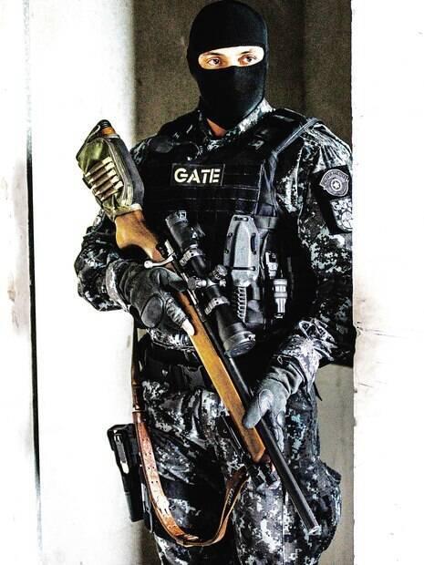 Atirador de Elite do Grupo de Ações Táticas Especiais
