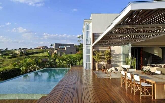 Como ter uma piscina em casa arquitetura ig for Piscina h 90