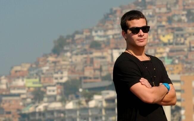 Thiago Martins mora há 22 anos na favela do Vidigal, na Zona Sul do Rio de Janeiro
