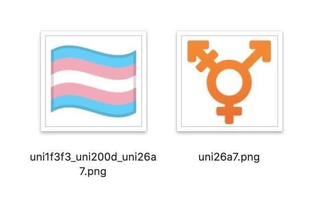 Bandeira e símbolo transgênero