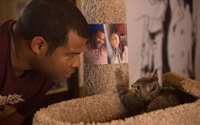 "Jordan Peele em ""Keanu: Cadê meu Gato?"""