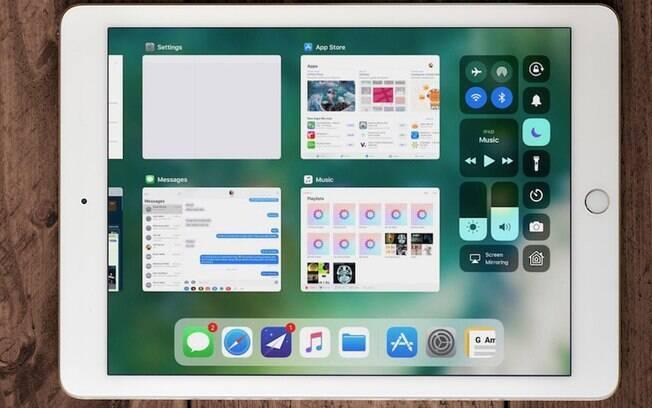 O iOS 11 também facilita o processo de troca de aplicações