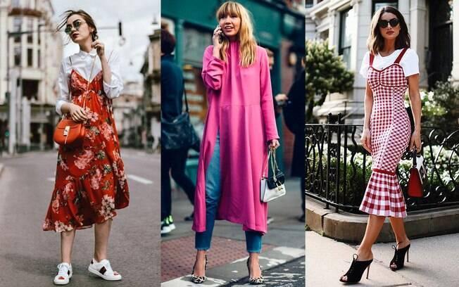 As sobreposições são ideais para dar uma nova proposta aos vestidos de festa.
