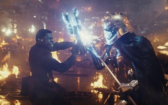 Cena de Star Wars: Os Últimos Jedi
