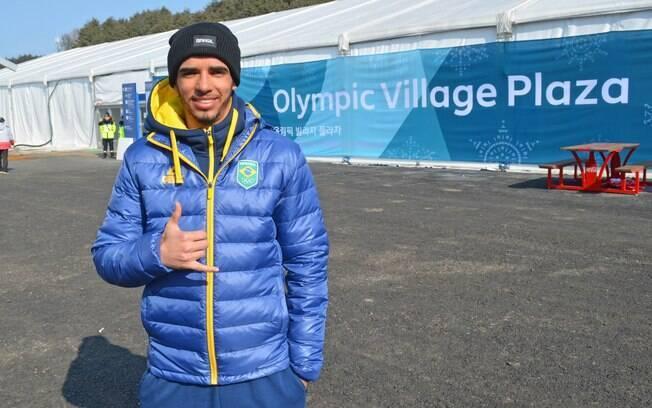 Brasileiro Victor Santos mudou de vida em poucos anos e se tornou atleta olímpico