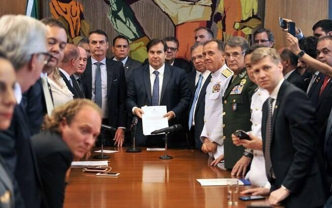 Bolsonaro já se reuniu com líderes de partidos do Centrão