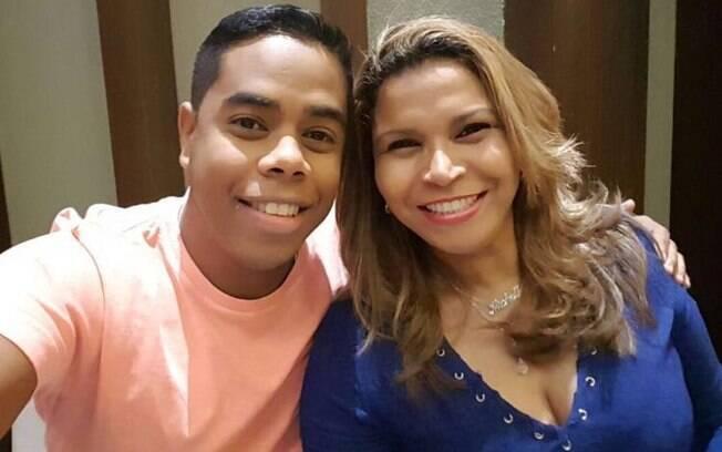 Michelle estava com o marido Wallissom Silva de Araújo ao sofrer a tentativa de assalto no Rio de Janeiro