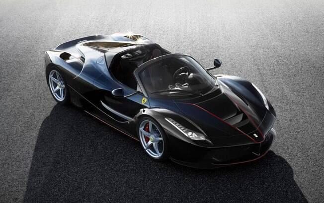 Teremos uma Ferrari no evento, a 488 GTB, mas bem que poderia ser uma LaFerrari Aperta.