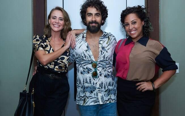 Juliana Silveira, João Baldasserini, Renato Livera e Evelyn Castro fazem parte do elenco de