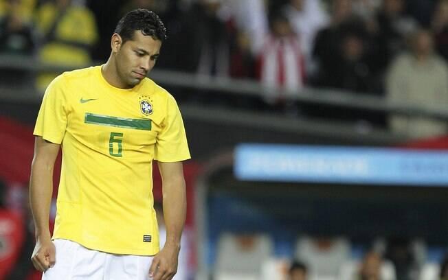 André Santos defendeu a seleção brasileira