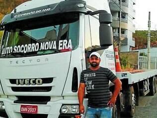 Cleber Morais Quintão se diz satisfeito após a aquisição de seu Iveco Tector 240E28 X2