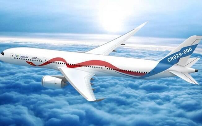 Novo avião chinês terá produção iniciada em 2021