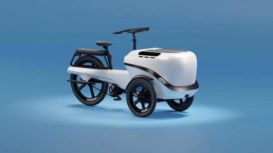 Triciclo Beluga será produzido em breve pela startup Vvolt que está de olho na onda de eletrificação
