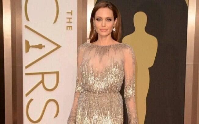 Angelina Jolie no Oscar de 2014