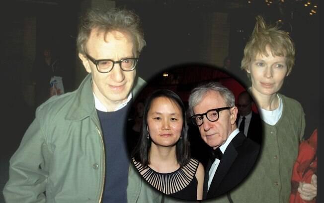 Woody Allen e Mia Farrom se divorciaram quando a atriz descobriu um romance entre o marido e sua filha adotiva, Soon-Yi