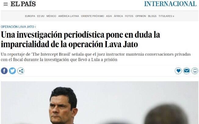 Imprensa internacional repercute sobre vazamento de conversas entre Moro e Dallagnol
